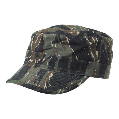 (MFH BDU Ripstop Field Cap Tiger Stripe size XXL )