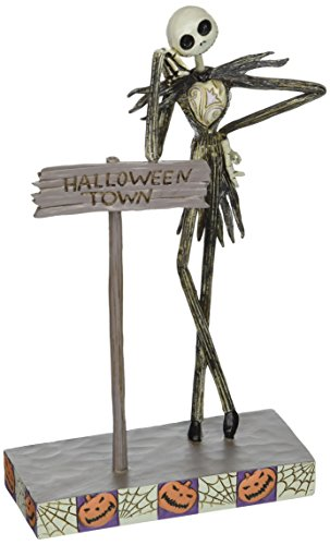 Disney Traditions by Jim Shore Jack Skellington Stone Resin Figurine, 8