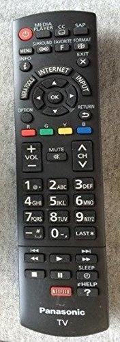 Panasonic Plasma TV Remote Control N2qayb000827 (Panasonic Plasma Audio Televisions)