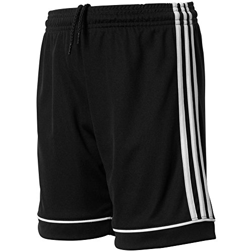 adidas Youth Soccer Squadra 17 Shorts, Black/White, Medium