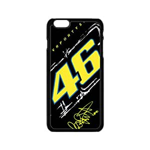 VR46 Official Racing Collection Valentino Rossi Design Plastic Case Cover For Iphone 6