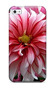Iphone Premium Protective Hard Case For Iphone 5c Nice Design Flower