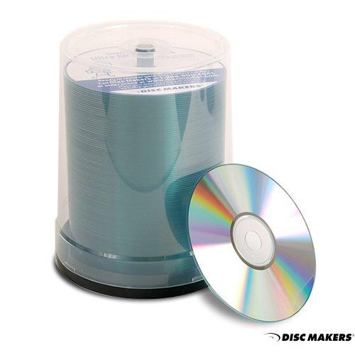 Ultra High Quality Blank CDs - Disc Makers Ultra 52x 700mb 80Min (Cd Pack)