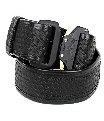 Fusion Tactical Military Police Patrol Belt Basket Weave Black Medium 33-38