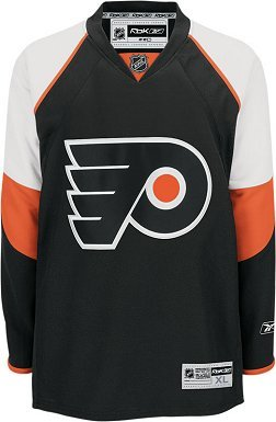 5e86e72aa Amazon.com   NHL RBK Philadelphia Flyers Premier Jersey - Youth ...
