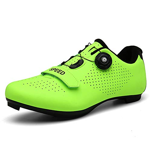 Mens Womens Road Cycling Shoes Breathable Anti-Skid Lock Mountain Biking Riding Bicycle Shoes