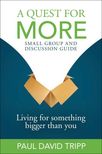 Read Online A Quest For More Small Group and Disscusion Guide: Living For Something Bigger Than You pdf