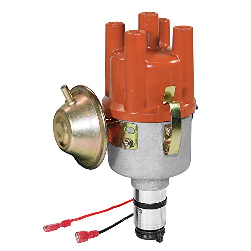 (Kuhltek Motorwerks 0231170034EL Vacuum Advance Distributor with Electronic Ignition for VW Beetle)