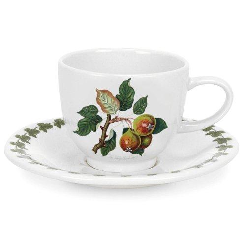 Portmeirion Pomona - Espresso Cup & Saucer Pear