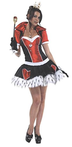 Off With Her Head Costume (Off With Her Head Costume - Small/Medium - Dress Size 2-5)