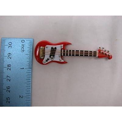 Heidi Ott Dollhouse Miniature Music 1:12 Scale Electric Guitar 2.8