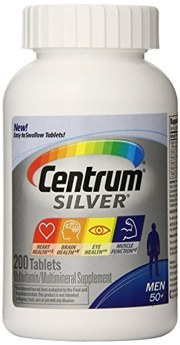 Centrum Silver Men 50+-Mega Size Package-400-Count Super Size Package