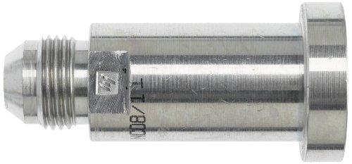 Brennan Industries 1700-16-24 Straight Hydraulic Adapter, 1700 Series, JIC Flare by Code 61 Flange, Thread 1 5/16-12'', Flange 1.50'' by Brennan Industries (Image #1)