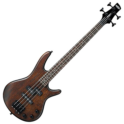 Ibanez 4 String Bass Guitar, Right Handed, Walnut Flat (GSRM20BWNF)