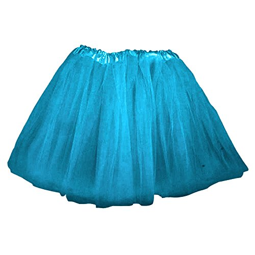 Top Rated Classic Elastic Ballet-Style Adult Tutu Skirt, by BellaSous. Great princess tutu, adult dance skirt, petticoat skirt or pettiskirt tutu for women. Tulle fabric - Peacock tutu