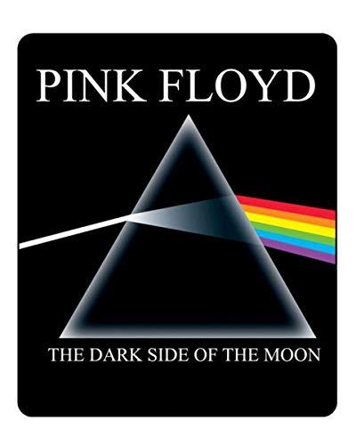JUST FUNKY Pink Floyd Dark Side of The Moon Lightweight Fleece Blanket | 45 x 60 -