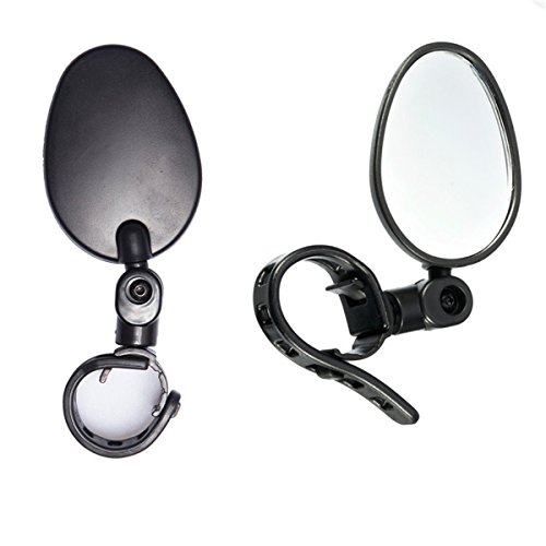 Newlight66 Bike mirror, Adjustable Handlebar Rear View Mirrors for Bicycle Mountain Road Bike by Newlight66 (Image #3)