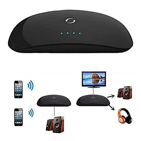 2in1 Wireless Bluetooth Transmitter & Receiver A2DP 3.5mm Stereo Audio Adapter - A2dp Stereo Bluetooth Adapter