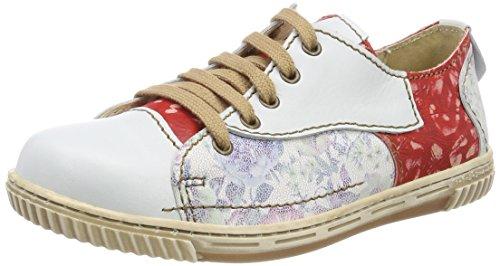 Vino Nieve de Zapatos Nieve Weiß para Rovers Cordones Oxford Mujer Blanco Uvn8w
