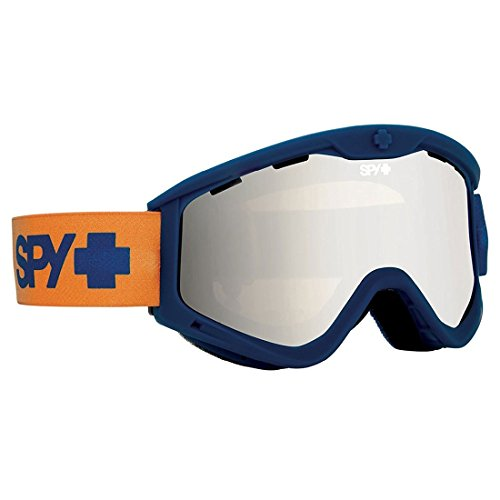Spy Optic Blue Fade T3 Winter Sport Racing Snowmobile Goggles, Bronze w/ Silver Mirror, One Size by Spy