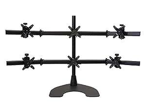 Amazon Com Ergotech Hex 3 Over 3 Lcd Monitor Desk Stand