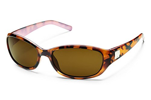 Suncloud Iris Polarized Sunglass (Tortoise Backpaint Frame/Brown Polar - Sunglasses Polarized Rei