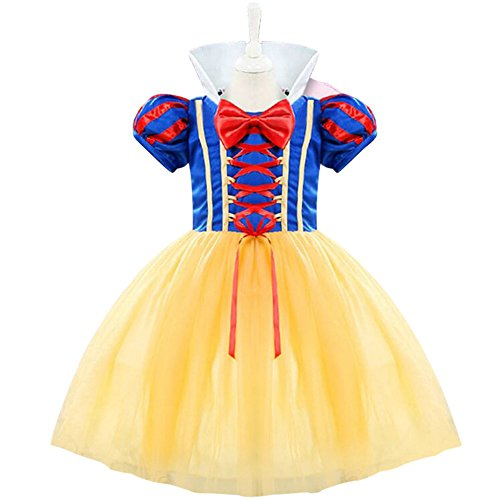 Halloween Devon Q Rebel Elegant Cute Child Cosplay Dress Christmas Ball Costume Snow White (High Priest Costume For Sale)