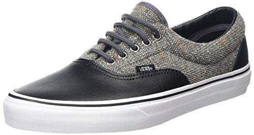 Vans Era, Scarpe da Ginnastica Basse Unisex – Adulto Nero (Wool & Leather Excalibur/Black)