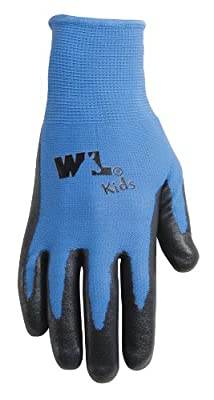 Wells Lamont Nitrile-Coated Work Gloves, Youth, Ages 4 to 7 (522Y)