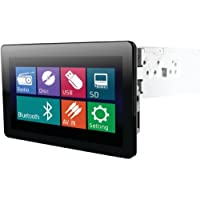 POWER ACOUSTIK PD-930B 9.3 Single-DIN In-Dash Motorized LCD Touchscreen DVD Receiver with Bluetooth(R) & Detachable Face