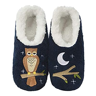 Snoozies Pairables Womens Slippers - House Slippers - Up Owl Night at Women's Clothing store