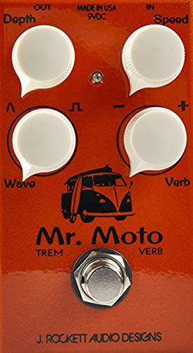 J. Rockett Audio Designs Tour Series Mr. Moto Tremolo Guitar Effects Pedal