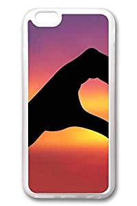 iPhone 6 Cases, Personalized Protective Case for New iPhone 6 Soft TPU Clear Edge Love Left Side