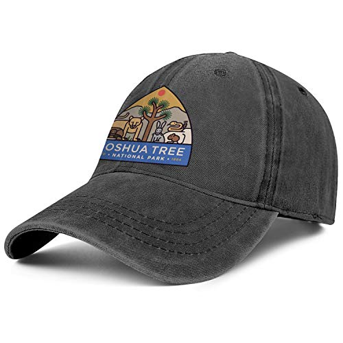 Unisex Men Adjustable Joshua Tree National Park Baseball Cap Plain Truck Driver Hat