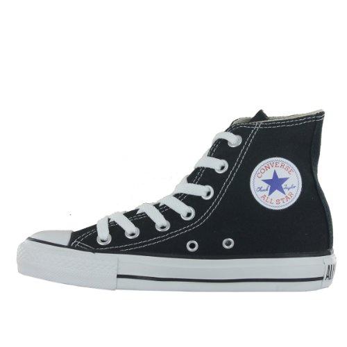 Converse AS Season Hi Tex 130126C - Zapatillas de lona estilo bota unisex Negro