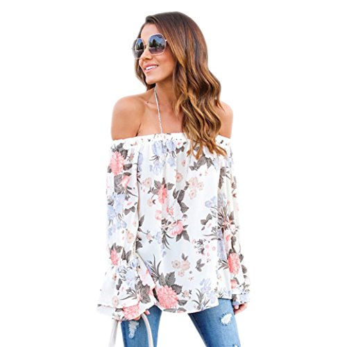 Textured Cropped Jacket (Sinwo Women Plus Size Casual Off Shoulder Floral Printed Blouse Tops T Shirt (Multicolor, XL))
