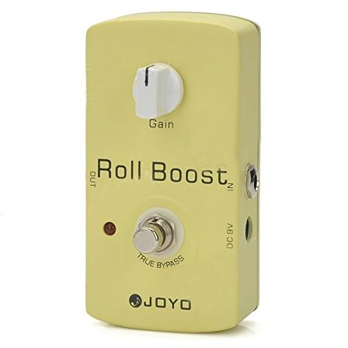 JOYO JF-38 Roll Boost Guitar Effect Pedal Clean Volume Boost by JOYO