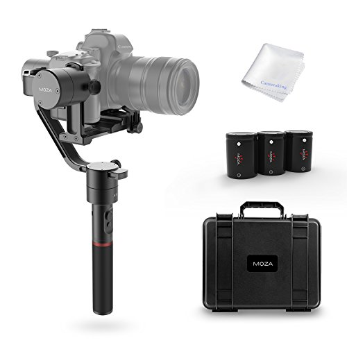 MOZA Air 3-Axis Handheld Gimbal Camera Stabilizer+Dual