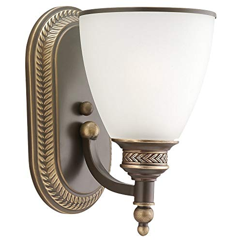 Sea Gull SG-41350-708 1-Light Laurel Leaf Wall / Bath