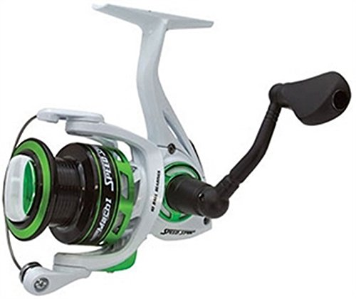 LEW'S FISHING Mach I Speed Spin Series, Fishing Gear, Fishing Reel, Spinning Reel, MH300