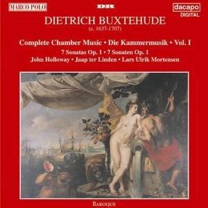 Sonatas Harpsichord Complete (Buxtehude: Complete Chamber Works, Vol 1 (Sonatas, Op 1) /Holloway ¡¤ ter Linden ¡¤ Mortensen By Dietrich Buxtehude (Composer),,Lars Ulrik Mortensen (Harpsichord) (1995-06-15))