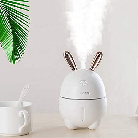 300 ml Essential Oil Diffuser Lamp for Aromatherapy, Cool Mist, Continous Spray, Intermittent Spray UP to 6 Hours, Waterless Auto Off, Mute and