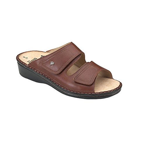 Sandalias Para Mujer Finn Comfort Soft Jamaica, Brandy Country, Tamaño - 43
