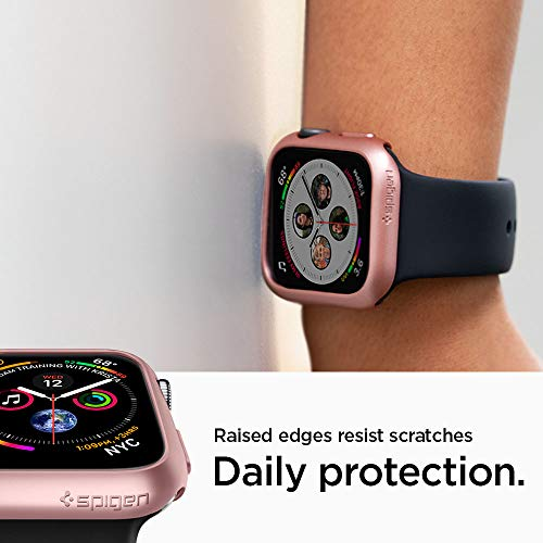 Spigen Thin Fit Designed for Apple Watch Case for 44mm Series 4 (2018) - Rose Gold by Spigen (Image #5)