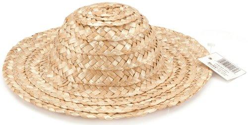 Round Top Straw Hat Natural