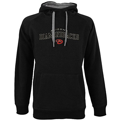 - Antigua Arizona Diamondbacks Men's Black Victory Pullover Hooded Sweatshirt X-Large