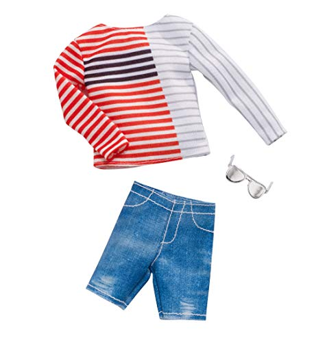 (Barbie Ken Stripe Boatneck Shirt Fashion)