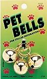 45103 Gold Pet Bells 3 Ct