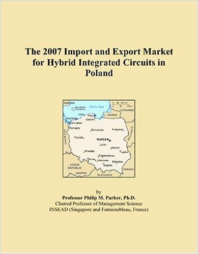 Suosituimmat äänikirjan lataukset The 2007 Import and Export Market for Hybrid Integrated Circuits in Poland 0546139302 Suomeksi PDF ePub iBook