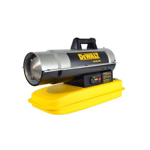 DeWalt DXH75KT Kerosene Heater, 75K BTU (Kerosene Diesel Forced Air Heater)